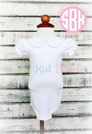 Baby Girl Short Sleeve Bodysuit